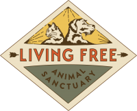 living free animal sanctuary visit us